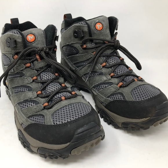 decad0ae3b7 Merrell Men's Moab 2 Mid Waterproof Beluga J06053
